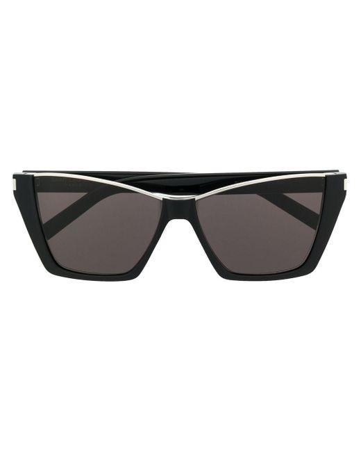 Occhiali da sole cat-eye di Saint Laurent in Black