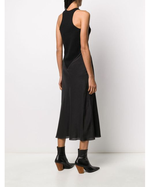 Haider Ackermann バイカラー ドレス Black