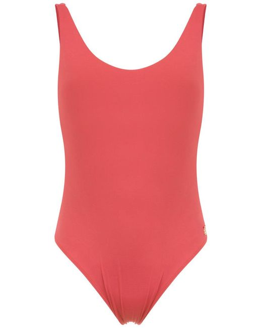 Brigitte Bardot - Red Lia Swimsuit - Lyst