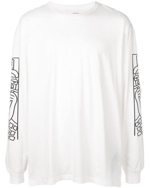 メンズ Haculla Guy And His Gun Tシャツ White