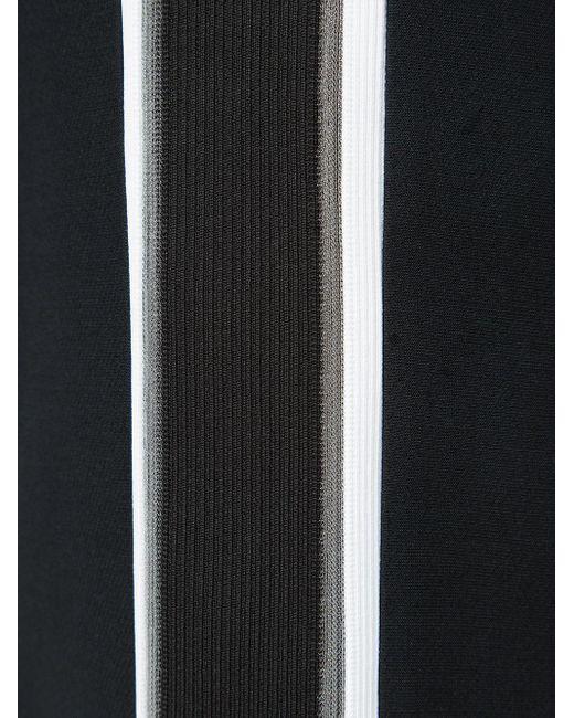 Расклешенные Брюки С Полосками По Бокам Fendi, цвет: Black