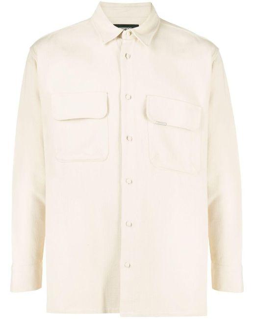 メンズ Represent パッチポケット シャツ Natural