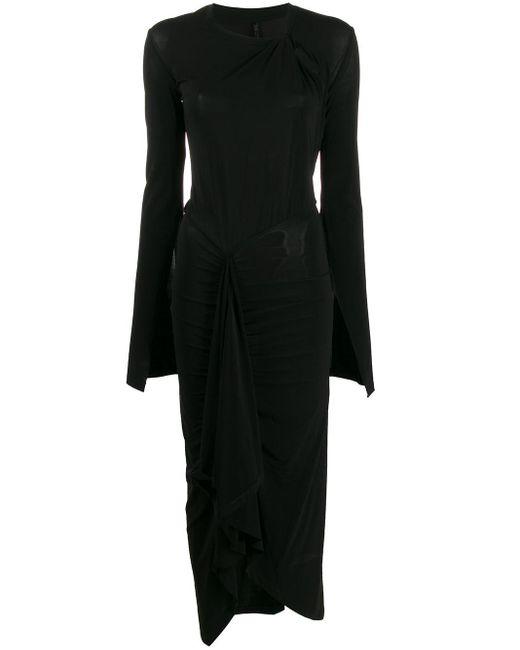 Unravel Project ノットディテール ドレス Black