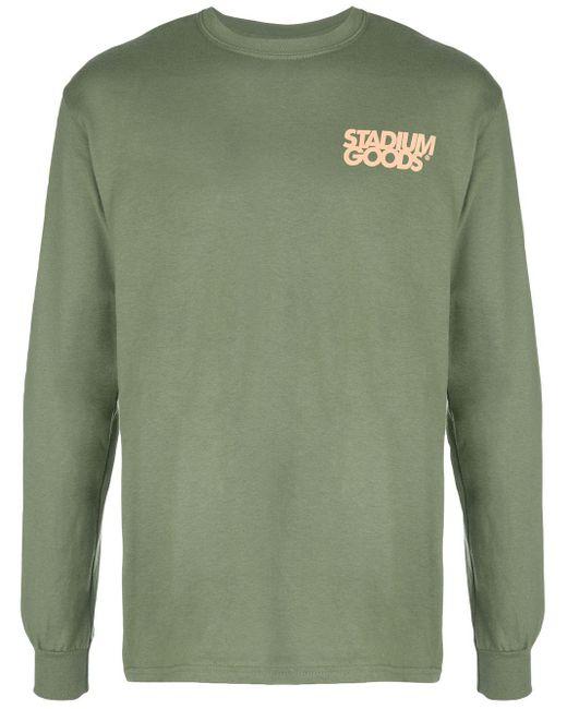 メンズ Stadium Goods ポケットロゴ Tシャツ Green