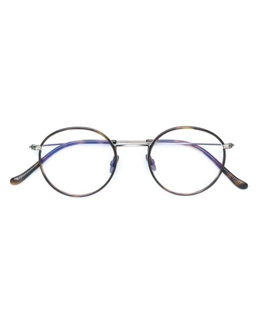 Gafas con montura redonda Cutler & Gross de color Multicolor
