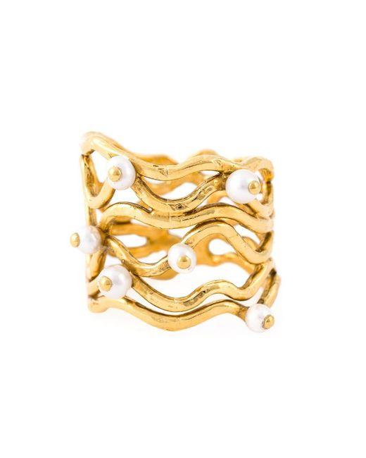 Aurelie Bidermann Metallic 'cheyne Walk' Wire Ring