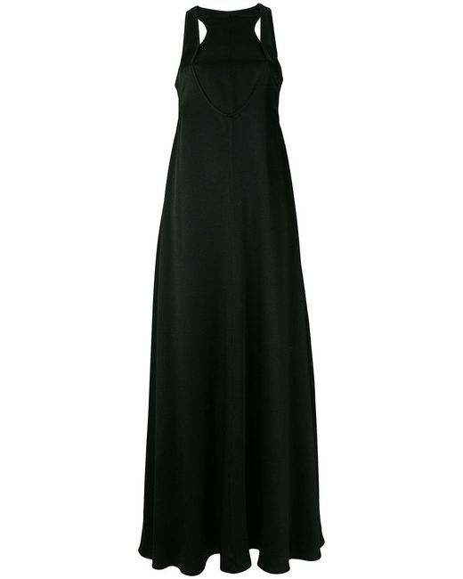 Valentino - Black Cut-out Detailed Evening Dress - Lyst
