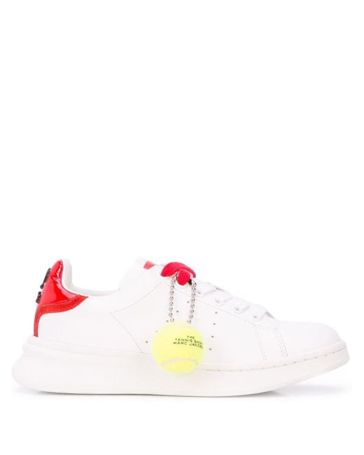 メンズ Marc Jacobs The Tennis Shoe スニーカー White