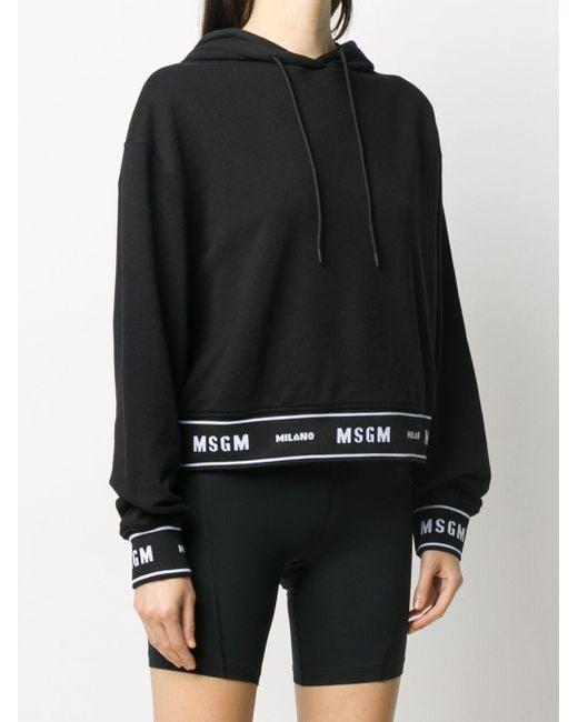 Худи С Логотипом MSGM, цвет: Black