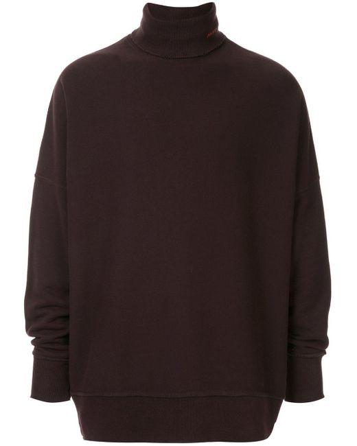 メンズ CALVIN KLEIN 205W39NYC タートルネック セーター Black