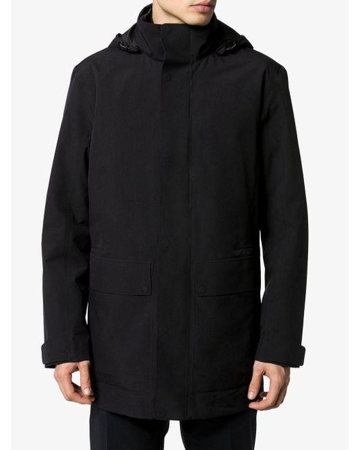 メンズ Z Zegna レイヤード コート Black