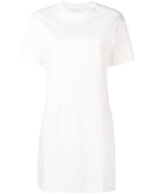 Victoria, Victoria Beckham ロゴトリム ドレス White