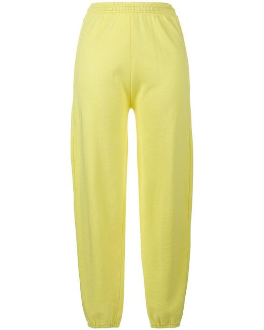 Ashley Williams | Yellow Gimme Five High Waist Joggers | Lyst