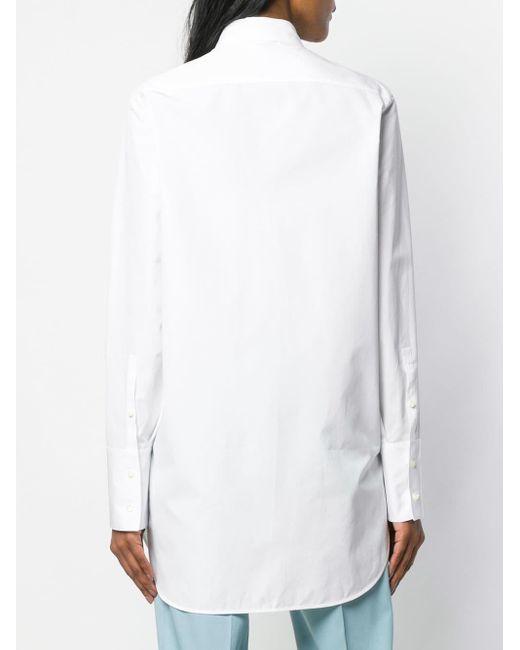 Jil Sander ロングシャツ White