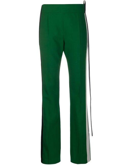 Pantalon de costume à rayures latérales Haider Ackermann en coloris Green