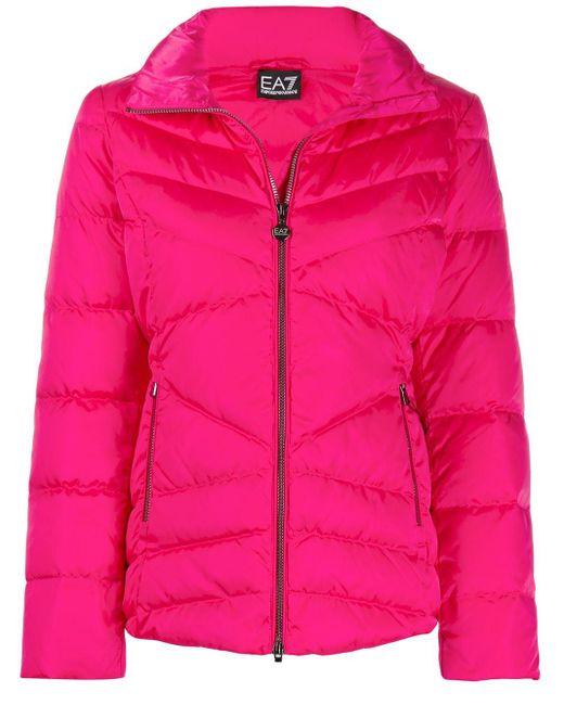 EA7 パデッドジャケット Pink