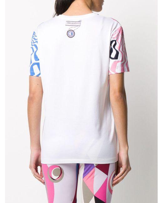 Emilio Pucci グラフィック Tシャツ White