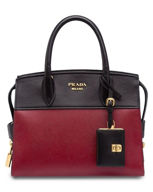 62f46541c59d Prada - Red Esplanade Tote Bag - Lyst ...