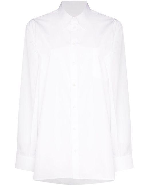Maison Margiela ボタンシャツ White