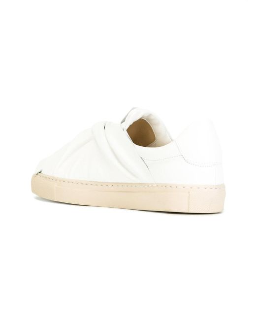 Ports 1961 White Knotted Sneakers