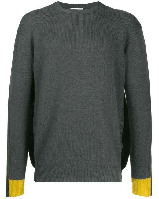 メンズ Etro カラーブロック セーター Gray