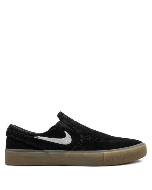 Nike Zoom Stefan Janoski Slip Rm スニーカー Black