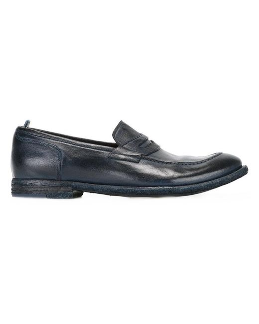 Officine Creative - Blue Classic Loafers for Men - Lyst