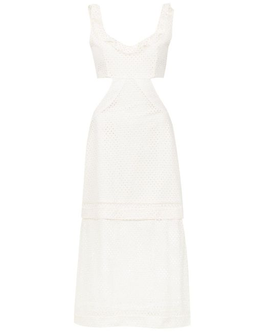 Fellari Midi Dress Olympiah, цвет: White