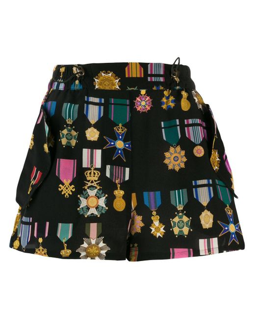 Shorts con stampa di Mr & Mrs Italy in Black