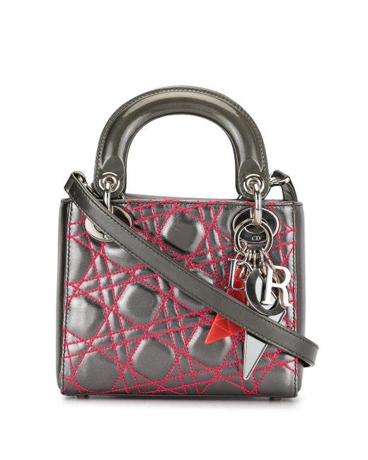 Dior Limited Edition Anselm Reyl 2way バッグ ミニ Gray