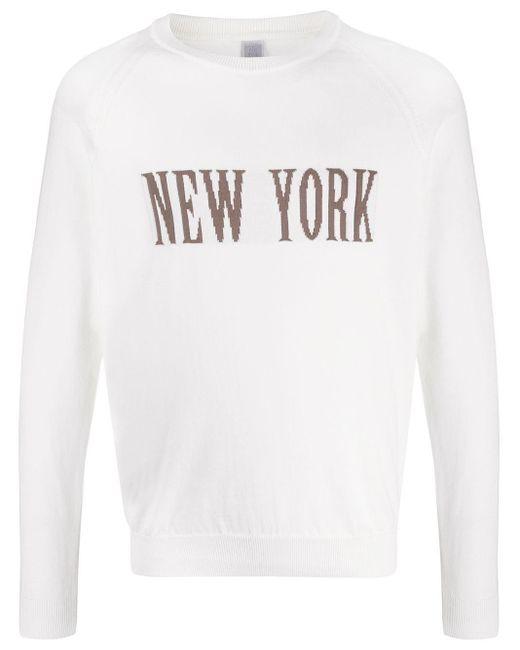 メンズ Eleventy New York スウェットシャツ White