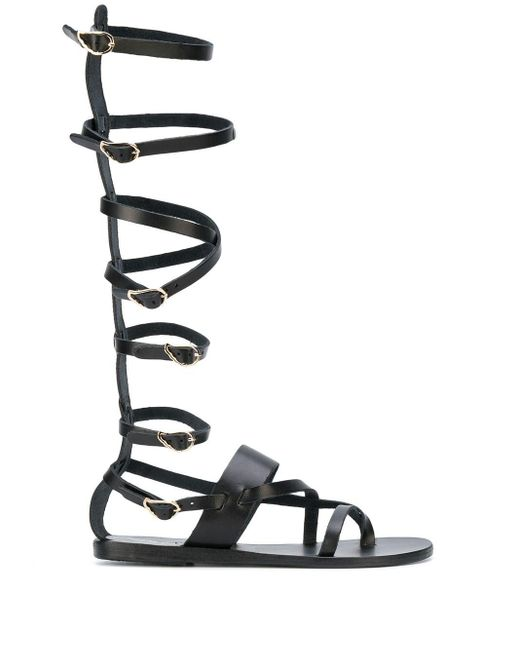 Ancient Greek Sandals Alethea High グラディエーターサンダル Black