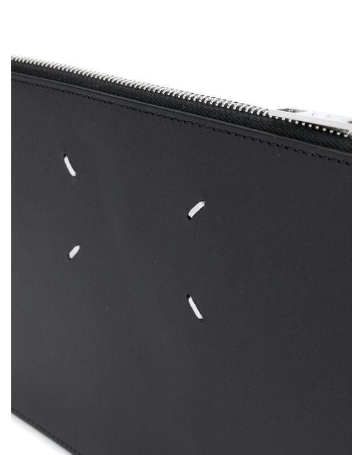 Клатч Mm.11 С Декоративной Строчкой Maison Margiela для него, цвет: Black