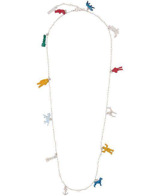 Marni チャーム ネックレス Multicolor