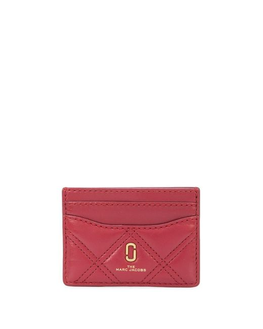 Marc Jacobs カードケース Red