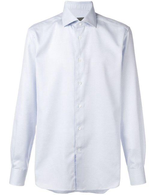 メンズ Corneliani フォーマルシャツ White