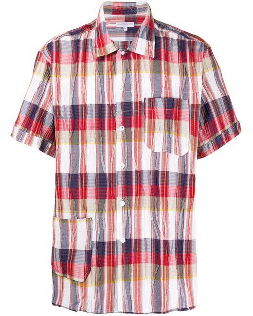 メンズ Engineered Garments ショートスリーブ シャツ Red