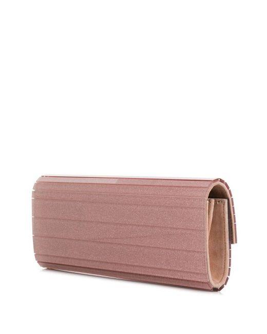 Clutch Sweetie di Jimmy Choo in Pink