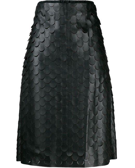 Bottega Veneta Aライン スカート Black