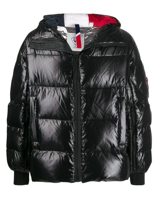 メンズ Rossignol オーバーサイズ ダウンジャケット Black