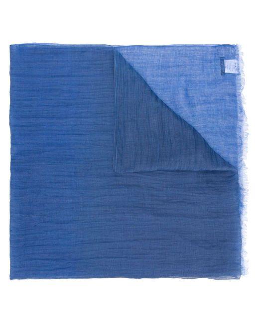 Faliero Sarti スカーフ Blue