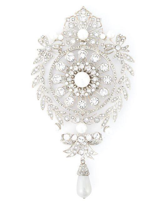 Givenchy | Metallic Spilla In Filigrana | Lyst
