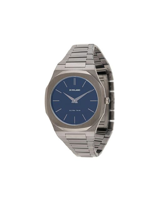 メンズ D1 Milano Ultra Thin 腕時計 Blue
