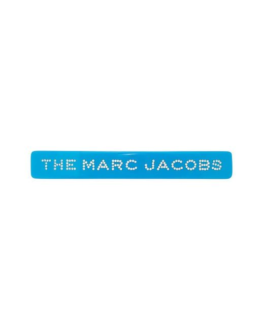 Marc Jacobs The Barrette ヘアクリップ Blue