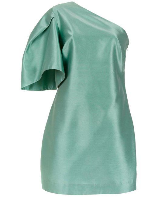 Tufi Duek Asymmetric Dress Green