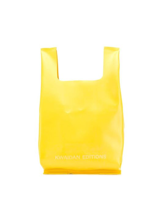 Kwaidan Editions トートバッグ Yellow