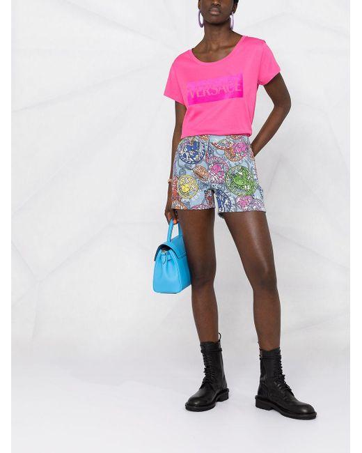 Versace ロゴ Tシャツ Multicolor