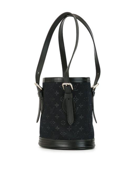 Сумка-ведро 2001-го Года С Логотипом Pre-owned Louis Vuitton, цвет: Black