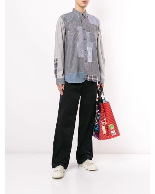 メンズ Junya Watanabe スリムフィット パンツ Black