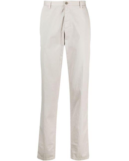 Giorgio Armani Multicolor Straight-leg Chino Trousers for men